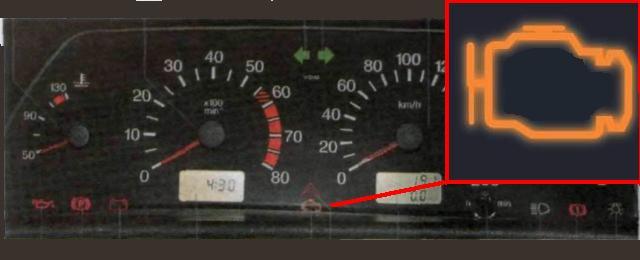 Счет-фактура выданный горит значок неисправности тормозов в ваз 2110 для санитарной